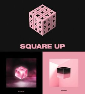 Blackpink Square Up 1st Mini Album Random Cd 2photocard Postcard