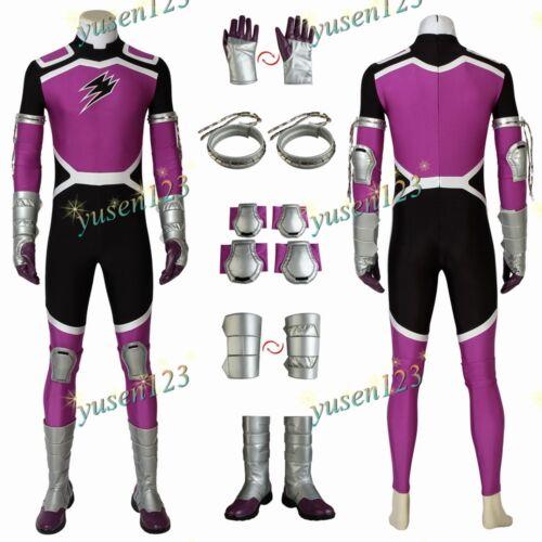 Juken Sentai Gekiranger Fukami GOU GEKI Violet Costume Cosplay ComicCon Bodysuit