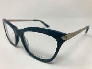 63a78733da8 GUESS Eyeglasses GU2655 084 Shiny Light Blue 53 17 135 Flex Hinge ...