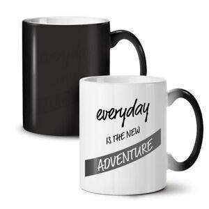 Everyday Adventure NEW Colour Changing Tea Coffee Mug 11 oz | Wellcoda