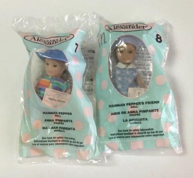"""Madame Alexander Hannah Pepper & Friend Doll 5"""" McDonalds"""
