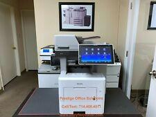 Ricoh Mp 501 Blackwhite Copier Printer Scanner Super Low Meter Only 16k