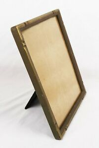 Vintage-Art-Deco-Gold-Painted-Photo-Picture-Frame-Fits-10x8