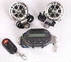 Handlebar Remote Radio Audio Speaker Motorcycle MP3 Stereo Amplifier For Harley