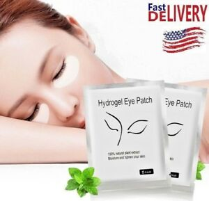 0dc2f4f96f0 100 Pairs Under Eye Gel Pad Patch Lint Free Eyelash Extension Tape ...