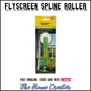 Details about FLYSCREEN SPLINE ROLLER WITH CONCAVE WHEEL - SUITES 3mm-6 5mm  SPLINE PIPING