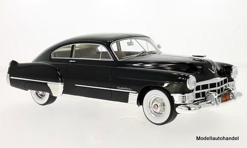Cadillac Series 62 Club sedanette 1949 NERO 1:18 BOS