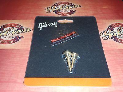 Gibson Gear PREP-010 2-Pack de Boutons de sangle en laiton