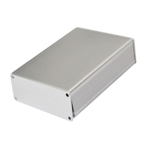 NEW Aluminum Project Box Enclosure Case Electronic DIY 100*74*29MM Silver Hot