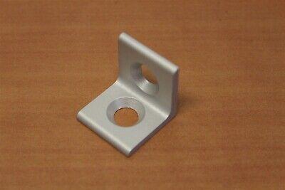 80//20 Inc Aluminum 2 Hole Lite Inside Corner Bracket 10 Series #4108 N