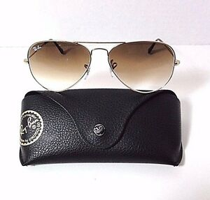 3d1b711091224 RAYBAN Aviator Large Metal Sunglasses RB3025 001 51 Gold Frame 58-14 ...