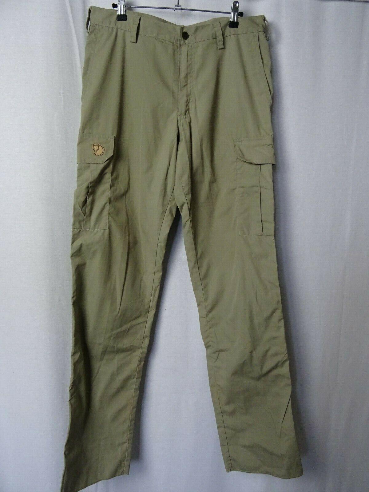 Men's Fjällräven Reivo G-1000 Trousers Outdoor Pants W32 L36