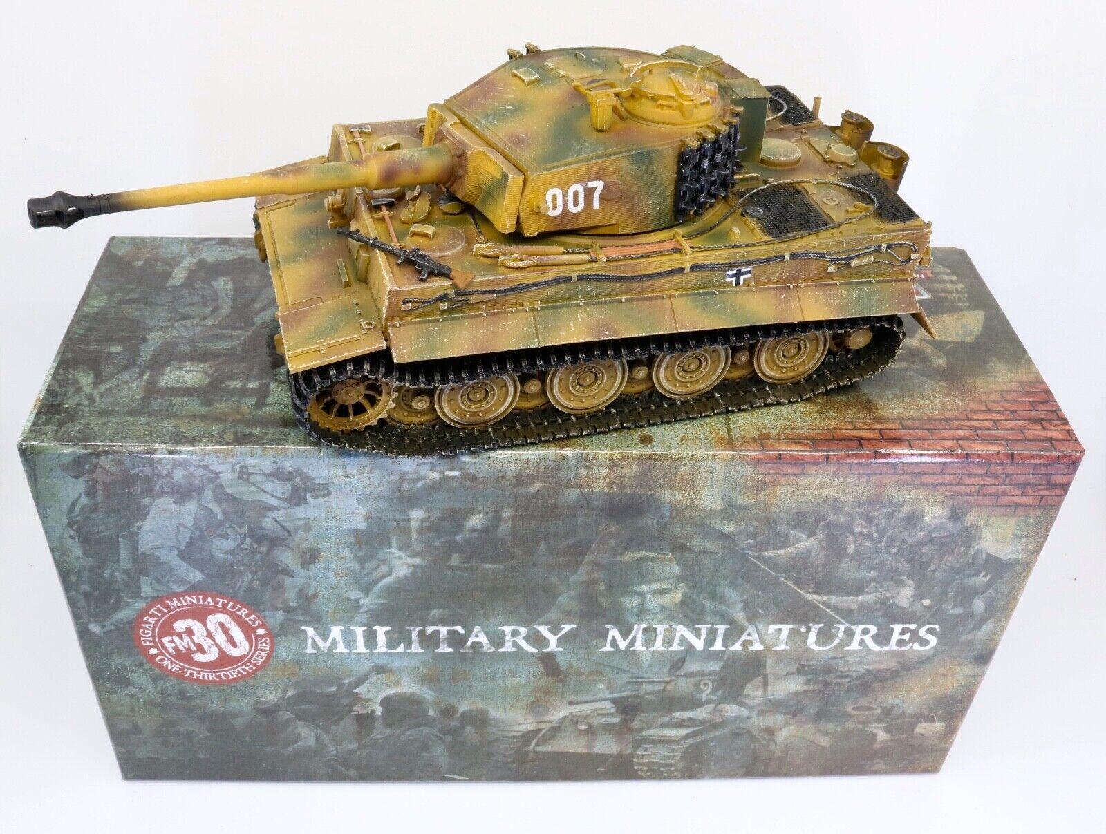 Figarti miniatures-Deuxième guerre mondiale-Théâtre Européen S. 47 500 édition limitée. Wittmann's Tiger 1 30