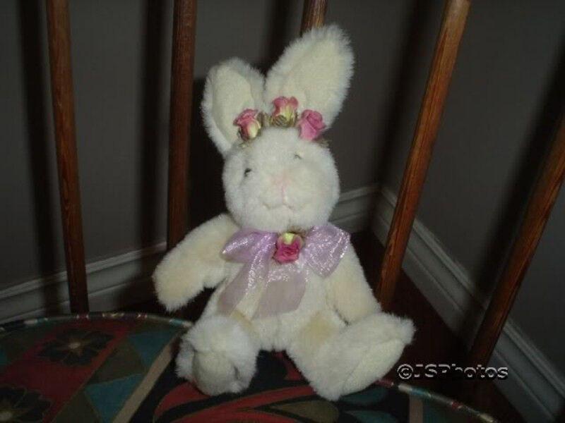 Russ Bunny Rabbit Plush L'il Bloomer Handmade 7in. 4604
