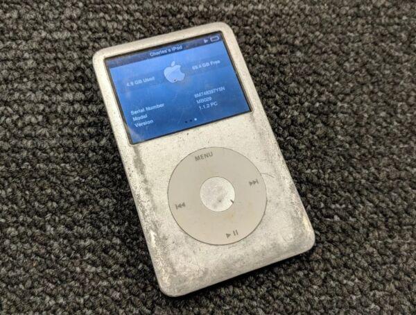 2019 Mode Apple Ipod Classic Silver 80gb Mb029 A1238 Elegante Vorm