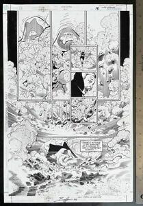 SPECTRE #20 BATMAN ARTIST NORM BREYFOGLE ORIGINAL ART SIGNED