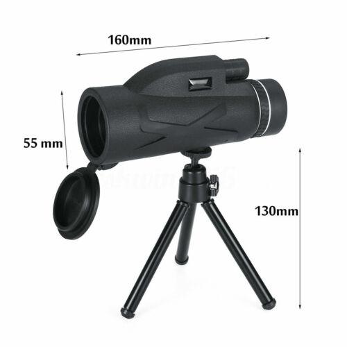 BAK4 Obiettivo Zoom 80X100 HD PRISMA trekking telescopio monoculare Treppiede Telefono Clip