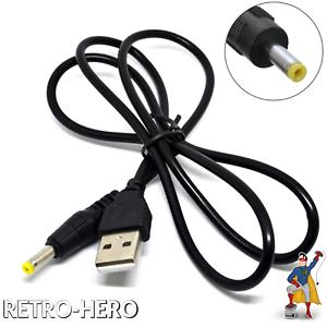 USB-Ladekabel-PSP-1000-2000-3000-Fat-Stromkabel-Ladegeraet-Netzteil-Kabel-Neu