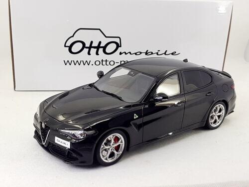 OTTO 1:18 scale Alfa Romeo Giulia Quadrifoglio Black OT793 // LE999 // Ottomobile