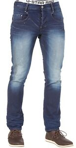 ce710bf5d45 RRP £175 > G-Star Raw Mens 50740 New Radar Slim Medium Aged Denim ...