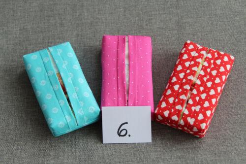 3 Taschentuchbehälter Taschentuchspender Taschentuchtasche