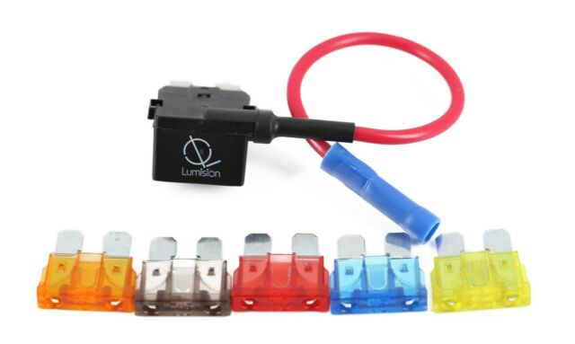 5AMP FUSE NEW ADD-A-CIRCUIT DUAL APR ATO ATC BLADE FUSE HOLDER FUSE TAP