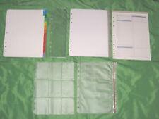 Monarch Tab Page Fill Lot Refill Set Franklin Covey Planner 85x11 Folio 212