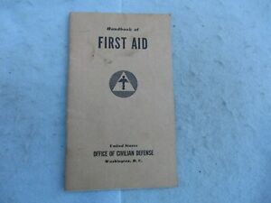 WWII-US-Civil-Defense-Handbook-First-Aid-Manual-1941-WWII