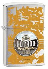 Zippo Hot Rod Pure Muscle US Car  Neu Katalog 2017 Feuerzeug 60002495