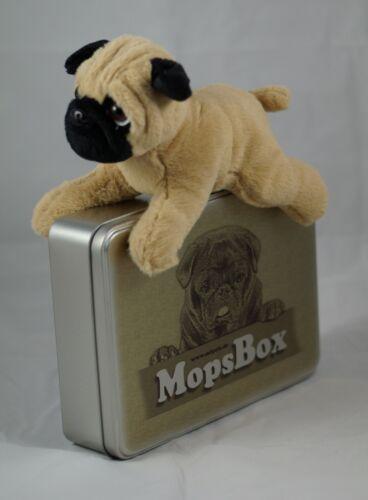 Geschenk Pug Plüsch-Mops in limitierter MopsBox von Möpsle Hund Party