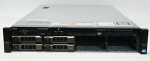 """Dell PowerEdge R720 2x E5-2690 2.9GHz 16 CORE 64GB 3.5"""" iDrac7 MT09V 10GB SFP"""