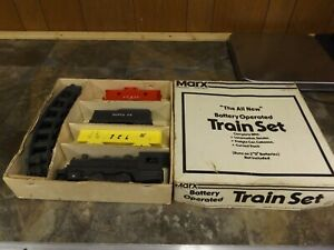 Vintage-Marx-Toys-Battery-Operated-Train-Set-2505