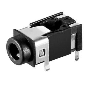 3-5mm-Klinke-Buchse-zum-Einbau-Einbaubuchse-fuer-z-B-Mikrofon-Kopfhoerer-4pins