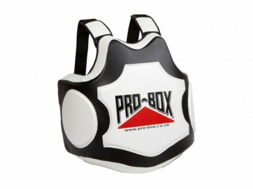 Pro Box Hi Impact Coaches Boxing Body Protector Pad Belly Sparring Armour MMA