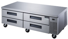 New 72 Refrigerated Chef Base 4 Drawer Equipment Stand Dukers Dcb72 D2 6292