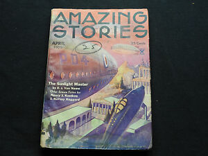 Amazing Stories Vol. 10 No. 1 April 1935