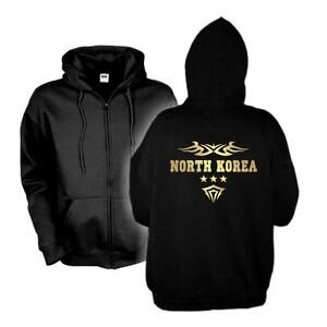 North North Korea Country Shirt wms06 Sweat cappuccio Giacca con Korea Jacket 43e Hoodie Fan wqFxIEC