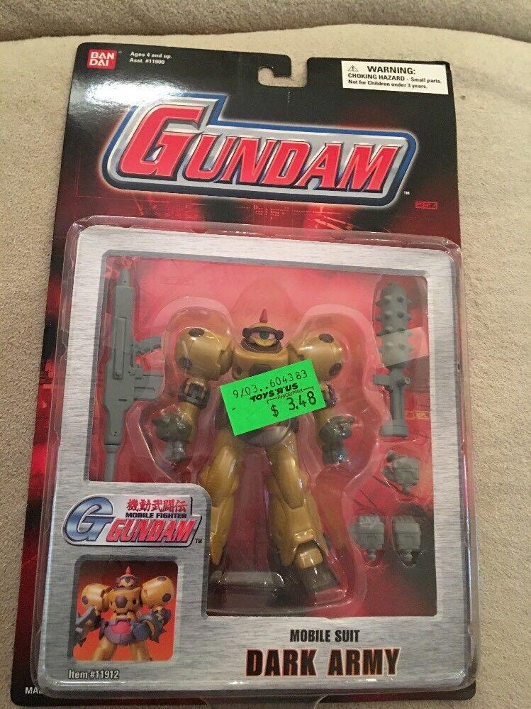 Gundam Mobile Mobile Mobile Fighter Mobile Suit Dark Army Bandai 2003 Toonami Cartoon Network cedd63