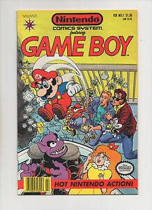Nintendo-Comics-System-1-Game-Boy-Mario-amp-Peach-Cover-Grade-8-5-1991