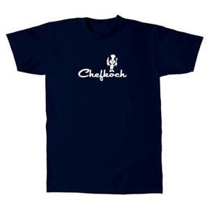 Herren-T-Shirt-Checkkoch-Koch-Devil-Fun