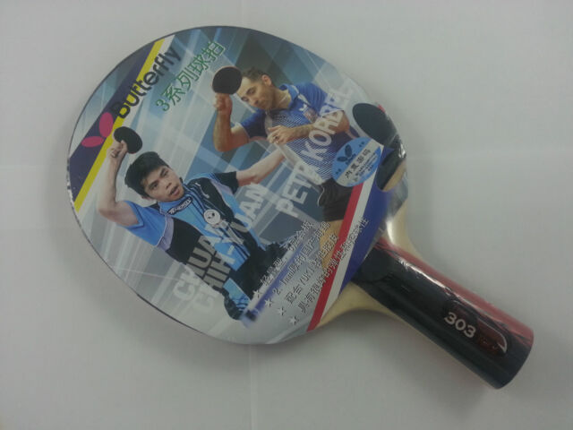 New Butterfly 303 Penhold Table Tennis Racket Table Tennis Racket