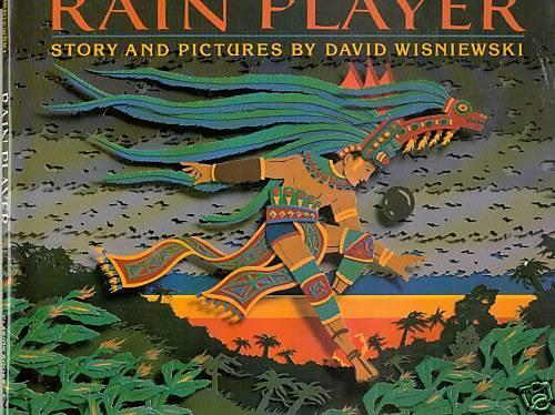 Rain Player by David Wisniewski (1991) SIgned - HB