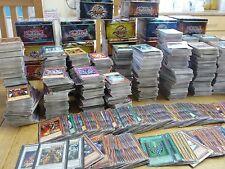 MASSIVE YUGIOH SALE 50,000 YUGIOH CARDS RARES HOLOS . 50 100 200 500 CARD SETS