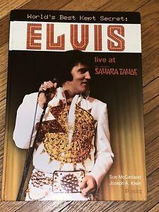 Elvis-Presley-World-039-s-Best-Kept-Secret-Live-at-Sahara-Tahoe-2008-Rare-Book