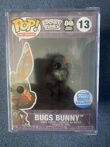 Looney-Tunes-Bugs-Bunny-Art-Series-Funko-shop-Exclusivo-13-Pila-de-duro-pedido-previo