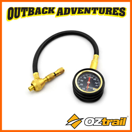 OZTRAIL RAPID TYRE DEFLATOR 4WD BEACH CAMPING QUICK & ACCURATE TYRE DEFLATION