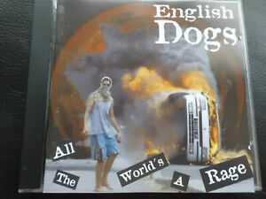 English-Dogs-All-the-World-039-s-a-Rage-CD-1995-punk-rock