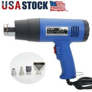 1500W-Hot-Air-Gun-Dual-Temperature-Heat-Gun-Wind-Blower-Power-Tool-W-4-Nozzles
