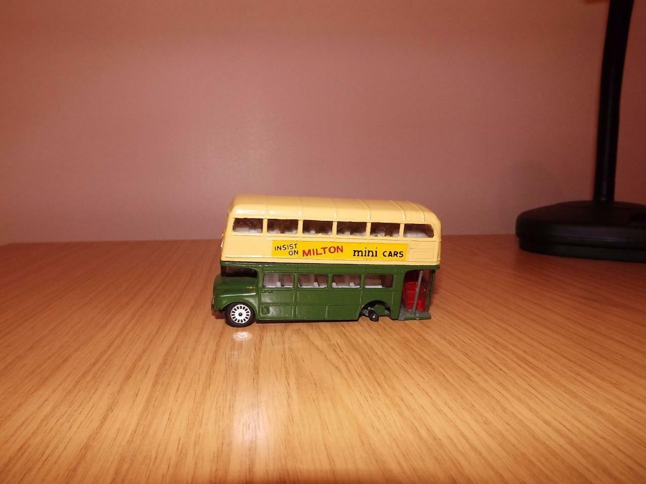 Noël fou saisir grand concours Za16: RARE Milton Routemaster Bus-Howrah à Dum-Dum | Beau