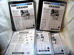 Leuchtturm-Grande-Huellen-Schwarz-Glasklar-5er-Packung-zur-Auswahl